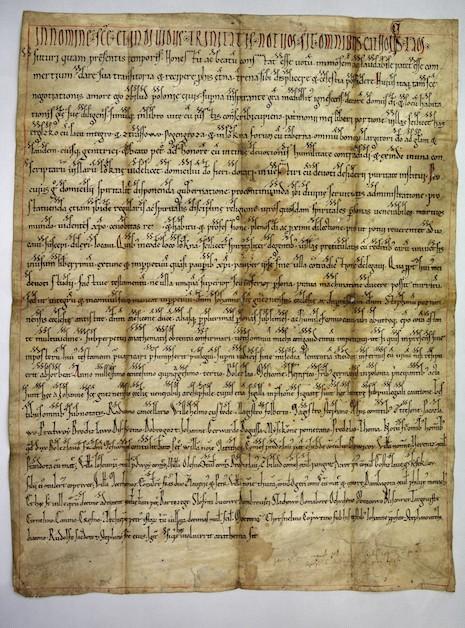 Dokument Zbiluta z 1153 r.