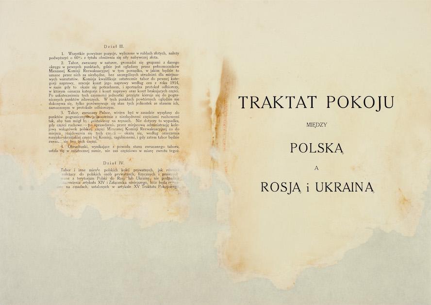 Traktat Ryski - karta tytułowa