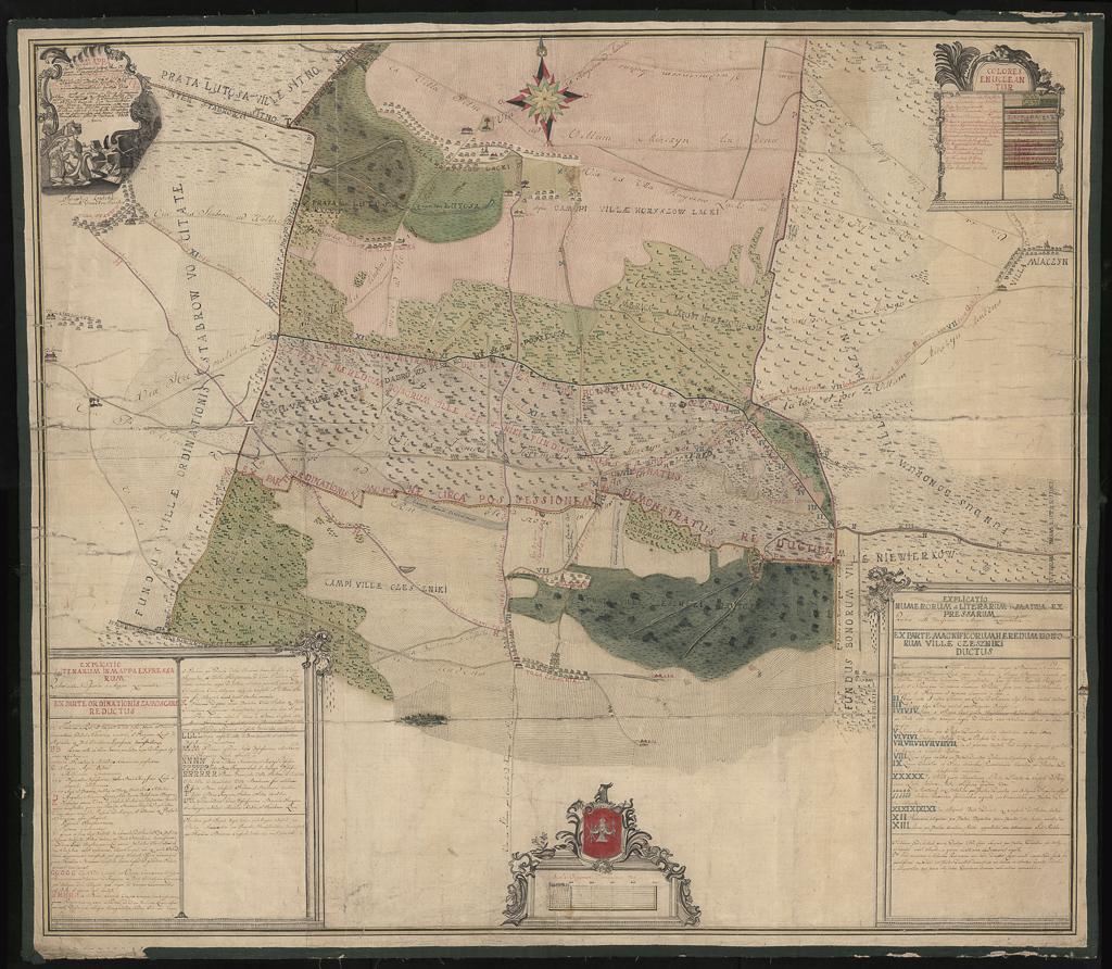 Mappa fundi villarum Horyszów Lacki