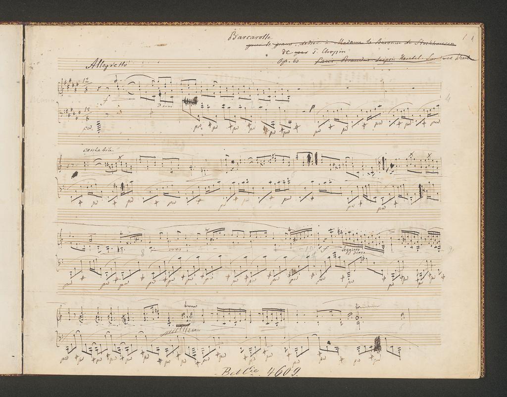 Kolekcję utworów Fryderyka Chopina - nuty