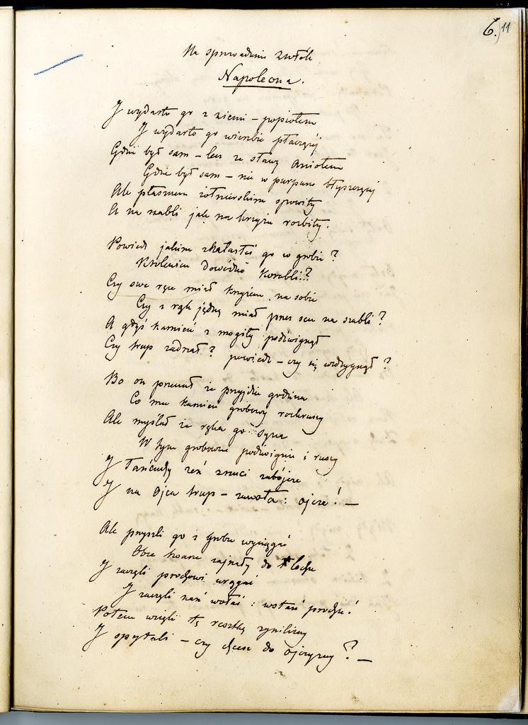 Rekopisy J. Słowackiego